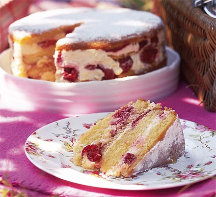 Recipe Custard Filling Danish Layer Cake